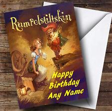 Rumpelstiltskin Personalised Birthday Greetings Card
