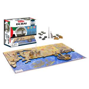 4D CityScape - History Over Time Puzzle -  DUBAI 1100 pce