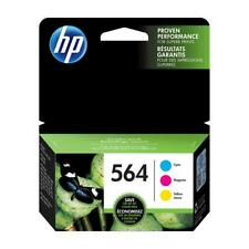 HP 564 Cyan, Magenta & Yellow Ink Cartridges with Photo Paper and Cards, 3 pack