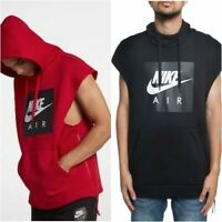Nike Sportswear Air Sleeveless Men's Hoodie 928645 Black | Red All Sizes $80 NWT