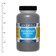 Molybdenum Disulfide 6 Oz Reagent Grade 1.5 Micron Powder USA SELLER