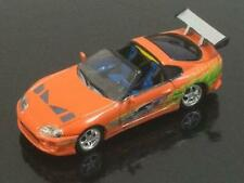THE FAST AND THE FURIOUS 1995 Toyota Supra Street Race Car 1/64 Scale RARE W12