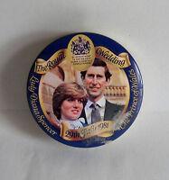 Vintage 29 July 1981/ Royal Wedding. Mints Tin. Prince Charles/ Princess Diana