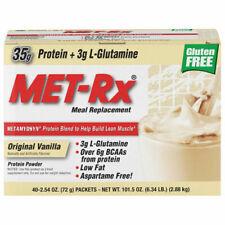 MET-Rx Original Meal Replacement 18 packets - Vanilla