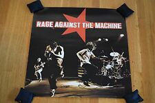 "Rage Against the Machine 1997 24"" 2-Sided Perforated Promotional Store Poster"