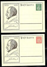 German WWII WW 2 3rd Reich unusedpost card 1932