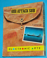 688 Attack Sub - Commodore Amiga 500 A500 - PAL