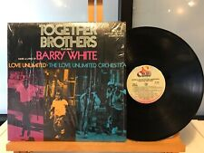 BARRY WHITE, THE LOVE UNLIMITED ORCHESTRA TOGETHER BROTHERS BLAXPOITATION USA 74