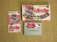 Kat's Run Super Famicom SFC Atlus Used Japan Racing Game Boxed Tested Working
