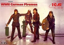 Ww ii german pompiers (pompiers) #35632 1/35 icm