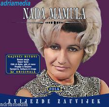NADA MAMULA 2 CD Zvijezde zauvijek Folk Narodna Hitovi Balkan Srbija Bosna Vrbas