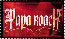 Papa Roach Concert Music Official Promo Sticker from Crue Fest RARE LOT of 2