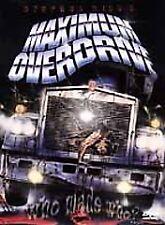 Maximum Overdrive (DVD, 2001) W/SCENE INSERT