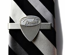 Metal Guitar Pick Tie Clip - Tie Bar - Business Gift - Handmade - Gift Box