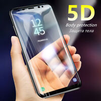 5D Curved Full Cover Tempered Glass Screen Protector Film for Samsung S9 S8 S7