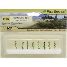 """Wee Scapes 00313, Sunflowers, 1"""" - 3"""" 8pk"""