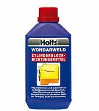 Holts wondarweld reparation internal and external cracked engine block aluminum