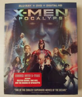X-Men - Apocalypse - BLURAY - DVD -  BRAND New & SEALED REGION 1