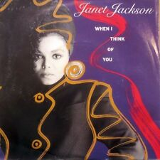 """Janet Jackson 7"""" When I Think Of You - Germany"""