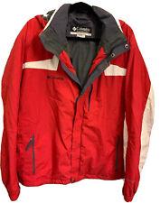 Columbia Men's Ski Jacket/Coat M Waterproof Snow Board   Hood Fleece Lining