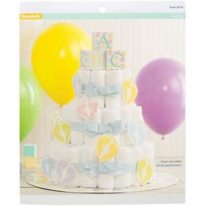 Simplicity Baby Shower Diaper Cake Kit 27 pc Simplicity Diaper Cake personalize