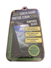 Shatter Resistant Screen Guard Tempered Glass Protector iPhone 6plus,6s,7&8 plus