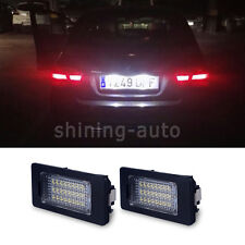 2x Canbus White Car License Plate LED Light bulb for BMW E39 E60 E90 F30 E92 E70