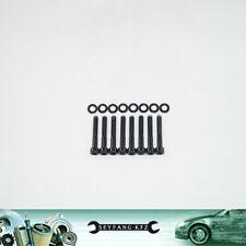 Edelstahl Schrauben schwarz Zündkerzenabdeckung Nissan Silvia 200SX S13 CA18DET
