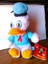DONALD DUCK GROUND NUT SHELLS STUFFED TOY. WALT DISNEY PRODUCTIONS MADE IN KOREA