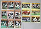 1972 NFL Topps Lot of 15 Pro-Action cards: Staubach, Riggins, Greenwood 1st year