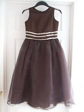 Womens Fits Size 8 alfred angelo brown bridesmaid Wedding dress Summer Winter