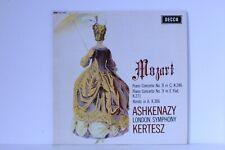 Mozart Ashkenazy London Symphony Kertesz Piano Concerto No. 8 Decca SXL 6259 LP
