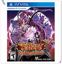 PSV Trillion God of Destruction SONY PlayStation VITA Games RPG Idea Factory
