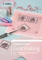 """""""VERY GOOD"""" Cardmaking (Collins Need to Know?), Hines, Laura, Book"""