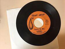 FUNK / SOUL 45 RPM RECORD - SUNNY & THE SUNGLOWS - TEAR DROP 3014