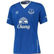 Maillot Foot Umbro Everton Bleu Taille L Neuf et Authentique