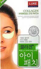 15 Pairs x LUKE Collagen Hydrogel Eye Mask Patch Pads Moisture Korea Patented