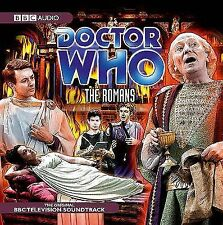 Doctor Who: The Romans NEW audiobook 2-CD William Hartnell Willaim Russell