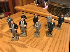 "1960-70 Marx Presidents Plastic Painted Figures-2"""