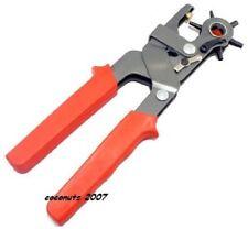 Pince professionnnelle perforatrice pour trou ceinture,cuir,œillet etc neuf