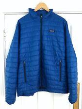 Men's Patagonia Nano Puff Jacket - Blue Large