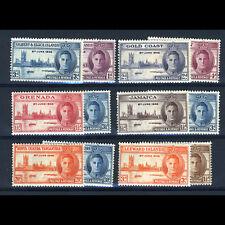VICTORY 1946. Gold Coast Grenada Jamaica Leeward Is K.U.T. Gilbert. MNH. (AT664)