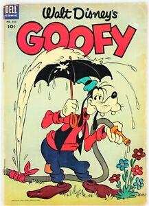 Dell Comics, Walt Disney's Goofy #562, $0.10, 1954 - VG - Four Color