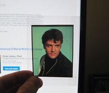 Elvis Presley 3 1/2 x 2 1/4 Color Transparency 1960's Movie Publicity Shot