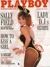 Playboy March 1986 / Sally Field / Playmate Kim Morris / David Byrne Interview