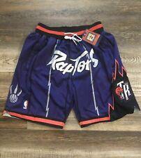 Toronto Raptors Summer City Purple Basketball Team Shorts Stitched Colors Nba