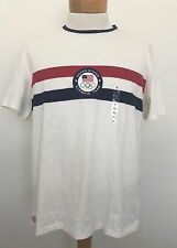 NWT POLO Ralph Lauren T-Shirt XL Olympic Patch White Short Sleeve
