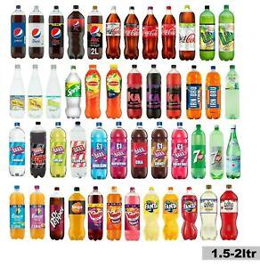 Coca-Cola,Fanta,San Pellegrino,Dr Pepper,Vimto,IRN-BRU ,Rubicon,Pepsi(1.5-2ltr)