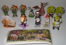 """Komplett Satz """"Shrek 4"""" von 2010 mit 3 Varianten und Beipackzetteln"""