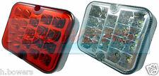 Anillo RCT495 & RCT496 Cuadrado LED Luz Trasera Juego Niebla & Reverse Luces/Lámparas unidades